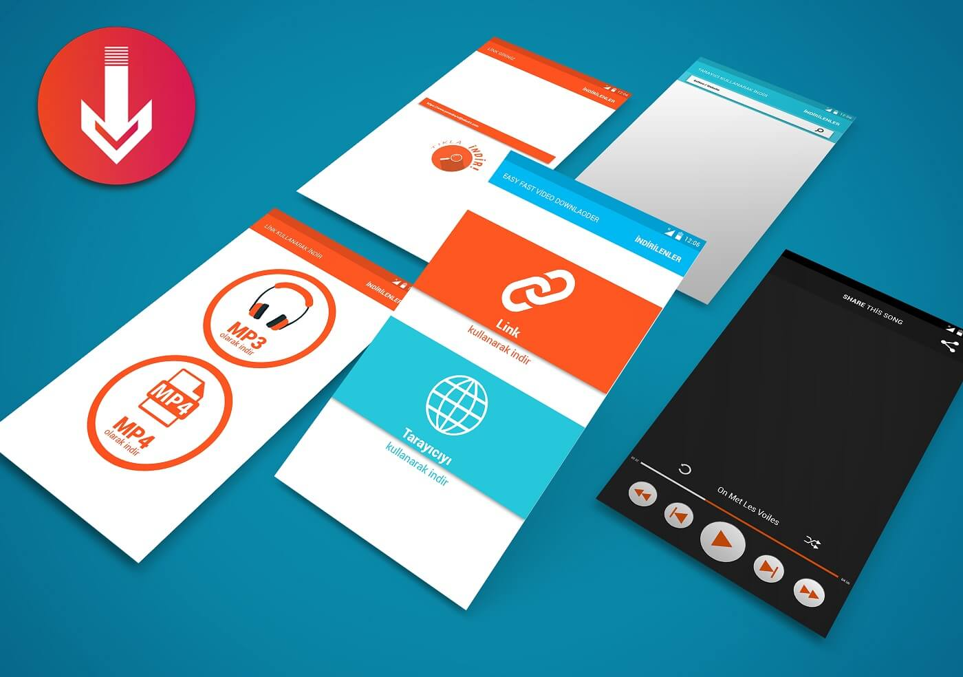 App Screen Showcase Mockup Vol.3
