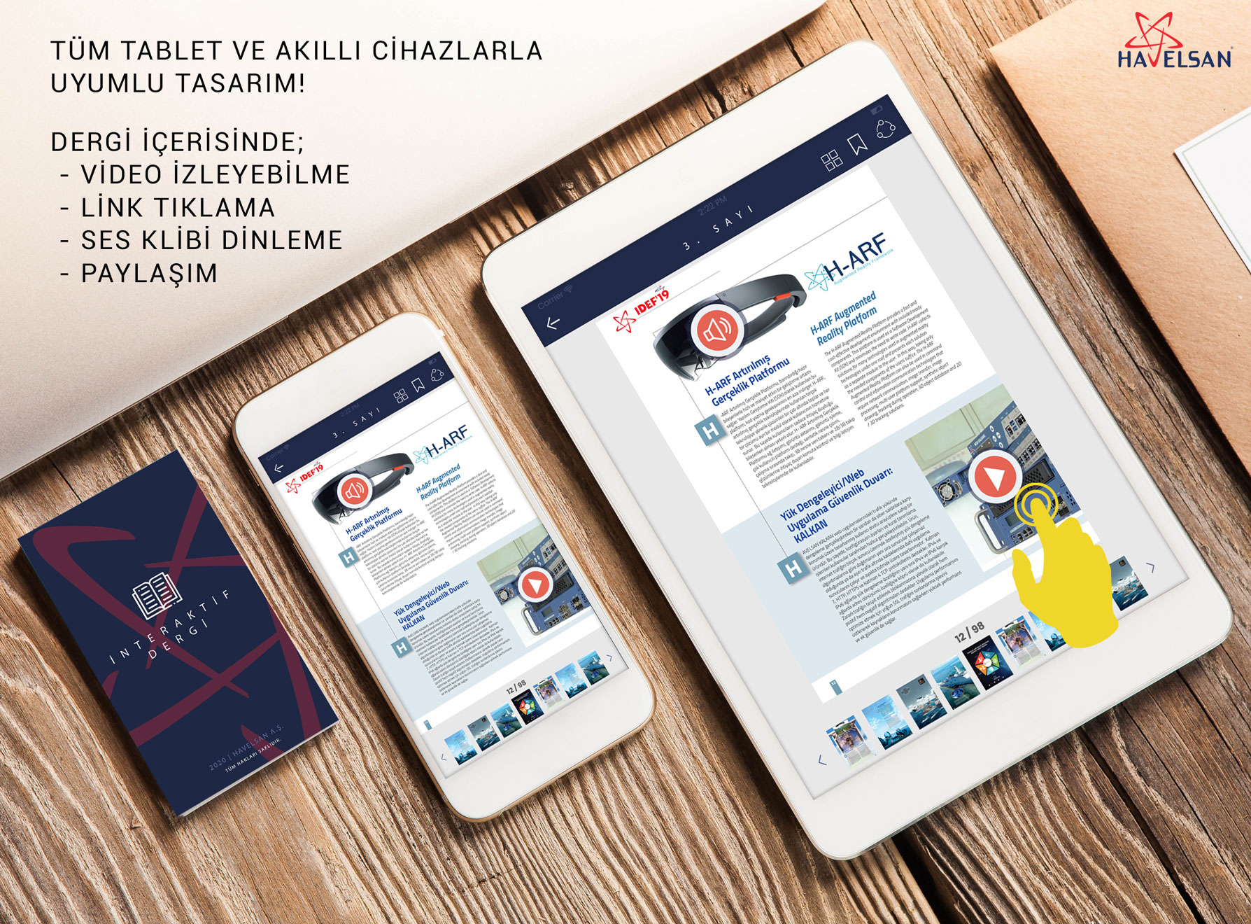 5. Dergi Okuma Sayfasi Tablet
